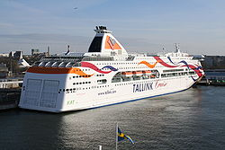 Baltic Queen in Tallinn