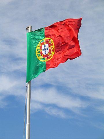 Flagge der Republik Portugal