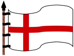 Templar Flag. Used for the Templar Knights.
