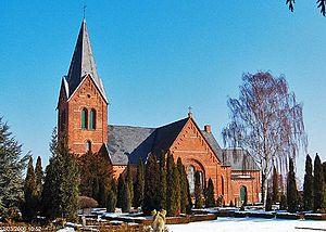 Bandholm Church - Bandholm Church, Lolland