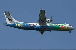 ATR 72-500 der Bangkok Airways