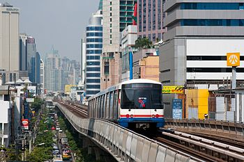 English: Bangkok Skytrain