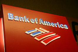Logo van Bank of America