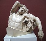 Barberini Faun (casting in Pushkin museum) by shakko 02.jpg