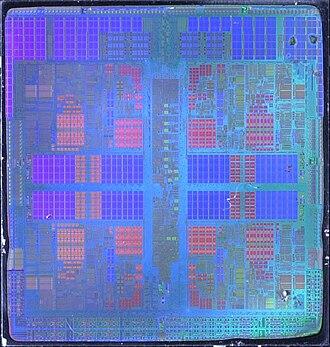 "AMD 10h - ""Barcelona"" die shot"