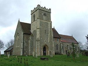 Barham, Suffolk - Image: Barham Church of St Mary