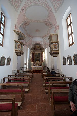 St. Bartholomew's Church, Berchtesgaden - Interior