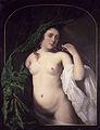 Bartholomeus van der Helst - Een naakte vrouw met draperie 1658.jpg