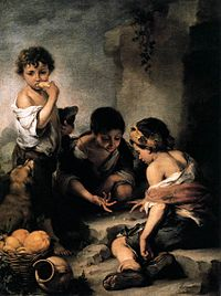 Bartolomé Esteban Perez Murillo - Young Boys Playing Dice - WGA16394.jpg
