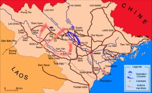 Battle of Nà Sản - Image: Bataille de Na San