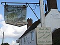 Battered pub sign - geograph.org.uk - 251674.jpg