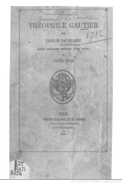 File:Baudelaire - Théophile Gautier, 1859.djvu