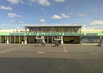 Bauerfield International Airport - Image: Bauerfield