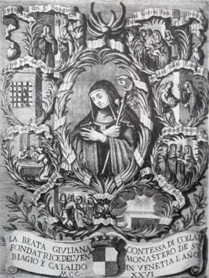 Blessed Giuliana of Collalto - An anonymous lithograph of Blessed Giuliana of Collalto.