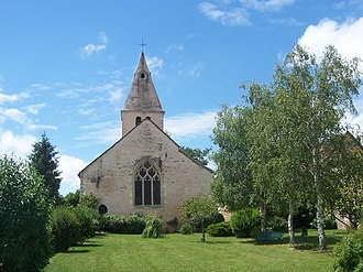 Beaumont-sur-Grosne - Image: Beaumont Sur Grosne Church