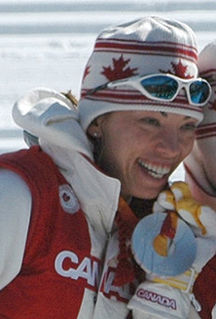 Beckie Scott Canadian cross-country skier