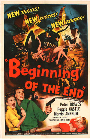 Beginning of the End (film) - Poster art for the film