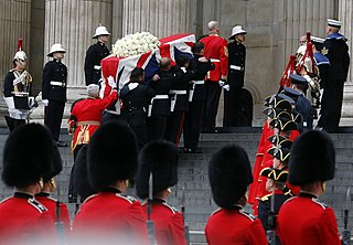 Death and funeral of Margaret Thatcher Death and funeral proceedings of Margaret Thatcher