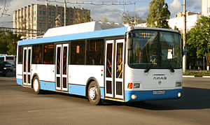 Belgorod - LiAZ-5293 CNG low-entry bus