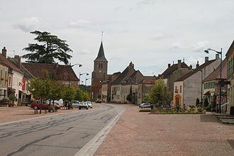 Bellevesvre - Image: Bellevesvre Grande Rue