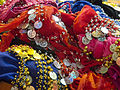 Belly dancing wraps with their noise making 'coins'-6294790760.jpg