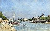 Bemberg Fondation Toulouse - Paris, le pont des Arts - Stanislas Lepine - (1878-1883) Inv.2067 39.5x56.jpg