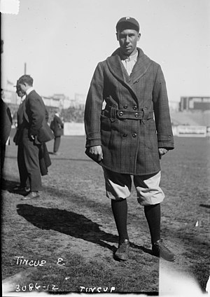 Ben Tincup - Ben Tincup with the Philadelphia Phillies in 1914.