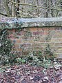 Benchmark on the parapet - geograph.org.uk - 1708677.jpg