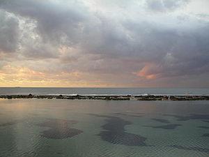 Coastline of Benghazi in the Cyrenaica, Libya'...