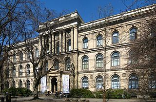Natural history museum in Berlin, Germany