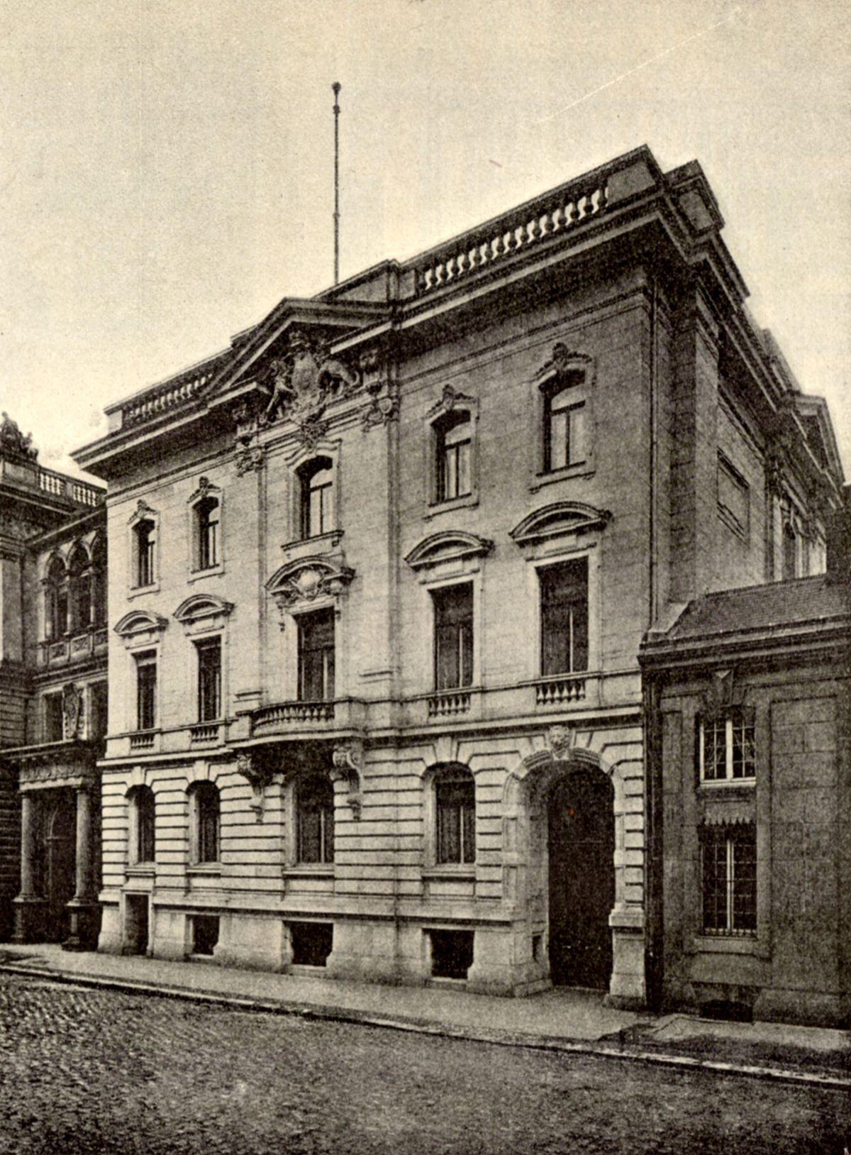 Goebbels Villa Berlin Mitte