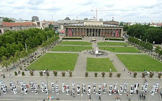 Lustgarten - Lustgarten in front of the Old Museum