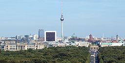 Berlin Cityscape, Shot from Siegessäule