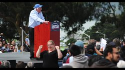File:Bernie Sanders Rally March 24 2019 San Francisco.webm