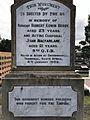 Berry and MacFarlane Monument, Boer War Memorial at Sherwood 01.jpg