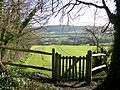 Berwick, E. Sussex- churchyard gate.JPG