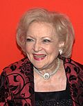 Photo of Betty White at the Time 100 gala in 2010.