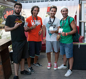 """Bewized - Bewized live in """"Texas Summer Festival"""", Athens July 2012"""