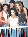 Bianca Dagger, Leah Lexington, Justin Syder, Kayla Page at Evil Angel Party 4.jpg