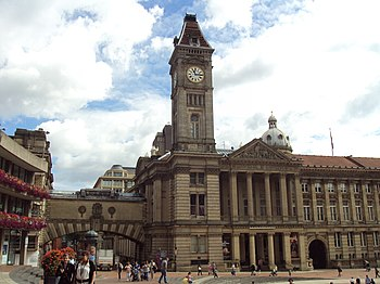Big Brum clock tower at Birmingham Museum and ...