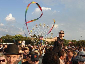 Le «Big Day Out» (festival de musique annuel en Australie et en Nouvelle Zélande) à Melbourne en 2006.