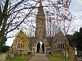 Biggleswade, Cemetery mortuary chapels - geograph.org.uk - 611738.jpg