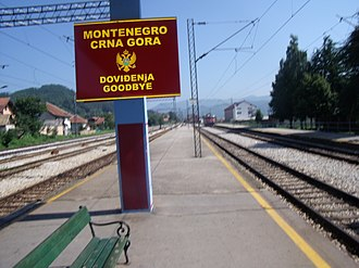 Bijelo Polje - Bijelo Polje is the end of the Montenegrin part of the Belgrade–Bar railway