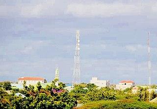 city in Galmudug, Somalia