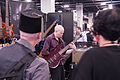 Bill Clements stopping passers-by in their tracks - 2014 NAMM Show.jpg