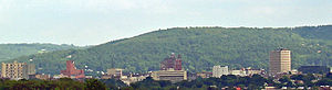 Downtown Binghamton from the north