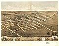 Birds eye view of Mount Sterling, Brown County, Illinois 1869. LOC 73693365.jpg