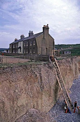 East Dean and Friston - Birling Gap, July 2001