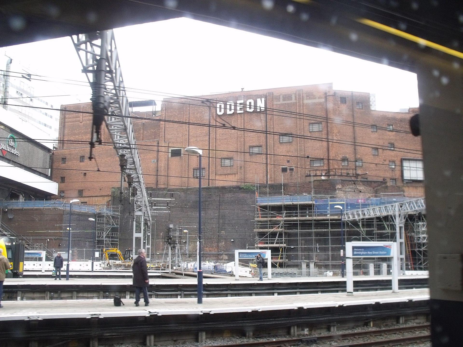 Birmingham New Street Station - The Pallasades and Odeon (6824127582).jpg