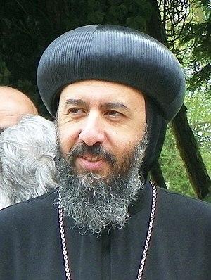 Anba Angaelos - Image: Bishop Angaelos, 26 April 2015
